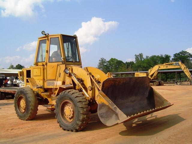 Caterpillar 920 lastmaskin i arbete
